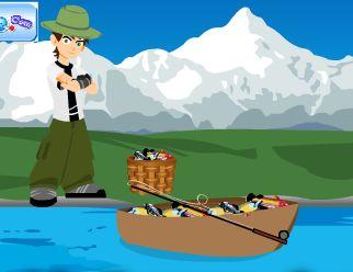 بن تن صياد السمك