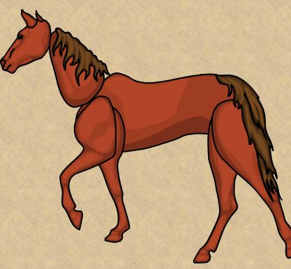 لعبة تركيب الحصان