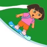 دورا تتزلج على الجليد
