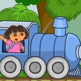 دورا والقطار السريع