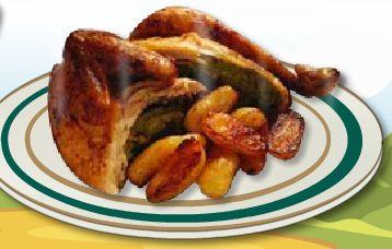 لعبة طبخ الدجاج المشوي