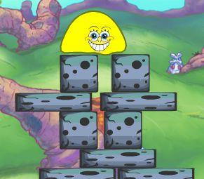 لعبة سبونج بوب الجلي