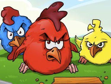 لعبة الطيور الغاضبة للاذكياء