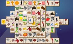 لعبة  Animal Mahjong