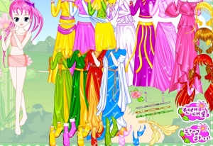 لعبة أزياء البنات