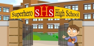 Superhero high school