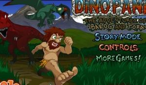 لعبة الهروب من الدنياصور