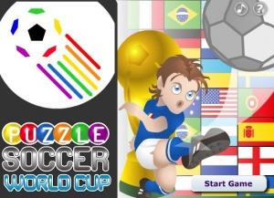 Puzzle Soccer World Cup بازل كرة قدم
