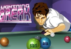 لعبة Lightning Break(بلياردو )