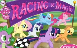 لعبة سباق ماي ليتل بوني