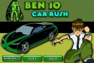 لعبة إندفاع سيارة بن تن