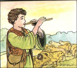 قصة الراعي الكذاب