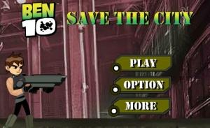 لعبة بن تن منقذ المدينة