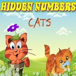 لعبة أرقام القطط المخفية