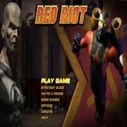لعبة الرجل الأحمر