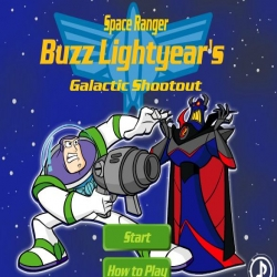 لعبة Buzz Lightyear - Galactic Shootout
