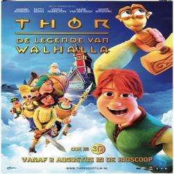 فلم الكرتون ثور: أسطورة المطرقة السحرية Legends of Valhalla: Thor 2011 مدبلج