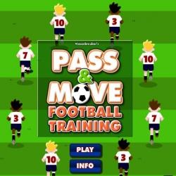 لعبة تدريب فريق كرة القدم