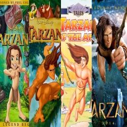 جميع افلام الكرتون طرزان Tarzan Movies مدبلجة للعربية