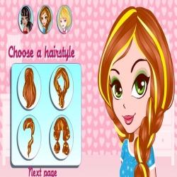 لعبة تصفيف شعر للبنات