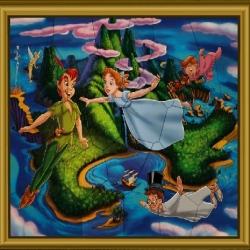 لعبة Puzzle Mania Peter Pan