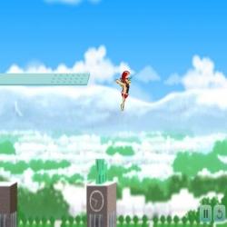لعبة القفز بالهواء