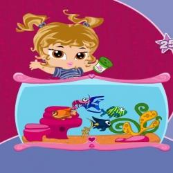 لعبة حوض السمك