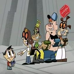 مسلسل الكرتون المراهقة الالية - ثورة الاليون