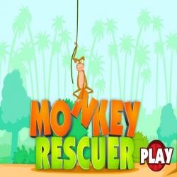 لعبة monkey rescuer