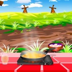 لعبة طبخ الفراخ بطريقة التايلاندية