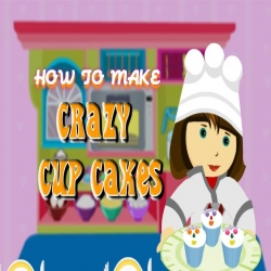 لعبة Crazy cup cakes