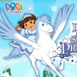 لعبة دورا أميرة الثلج