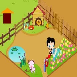 لعبة حديقة الطفل