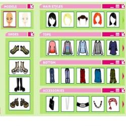 لعبة إختيار الأزياء