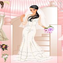 لعبة أزياء العروس