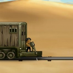 لعبة Train raiders