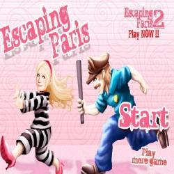 لعبة هروب باريس هيلتون escaping paris game