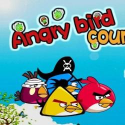 لعبة الطيور الغاضبة والأيس كريم