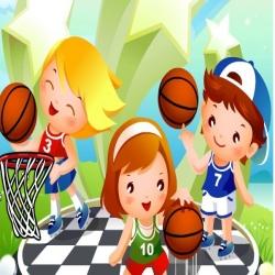 تبرع مقابل لعبة كرة السلة للمحترفين