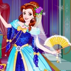 لعبة تلبيس الأميرة بيلا