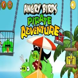 لعبة الطيور الغاضبة والقراصنة