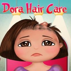 لعبة علاج شعر دورا