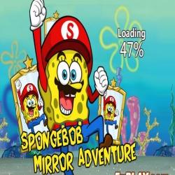 لعبة مغامرات سبونج بوب للوصول للمرآة