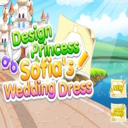 لعبة تصميم فستان الأميرة صوفيا