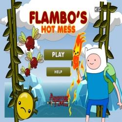 لعبة فين Hot mess