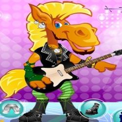 لعبة الحصان المغني المشهور