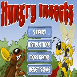 لعبة إطعام الحشرات