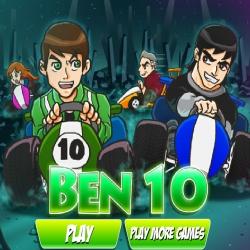 لعبة سباق عربات بن10