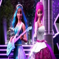 فيديو أغنية نهاية فلم باربي الاميرات والنجمات Barbie Rockn Royals 2015 مدبلج للعربية