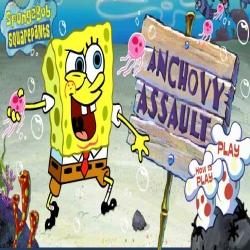لعبة سبونج بوب اضراب الأليون